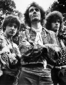 British Rock Group 'Cream' poses for a portrait in 1968 LR Jack Bruce Ginger Baker Eric Clapton