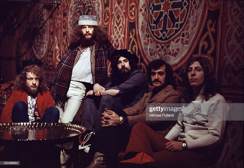 British rock group Jethro Tull in London, 11th March 1971.