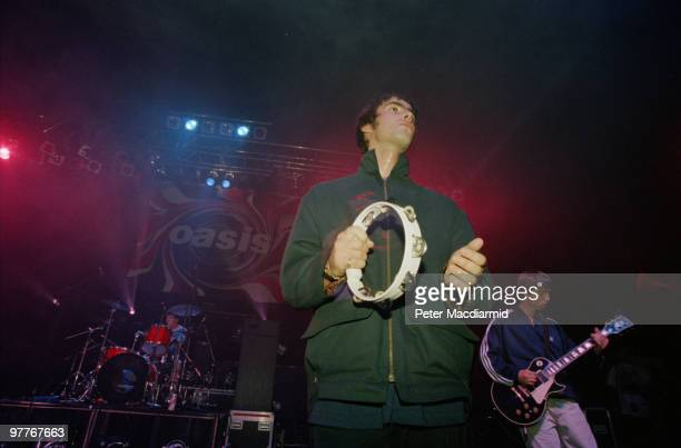 British rock group Oasis live at the Astoria in London 19th August 1994