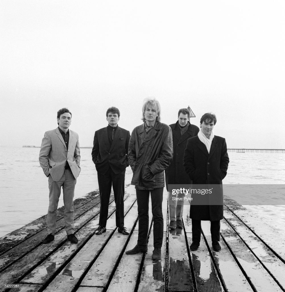 British rock group The Godfathers Southend Essex 11th February 1988