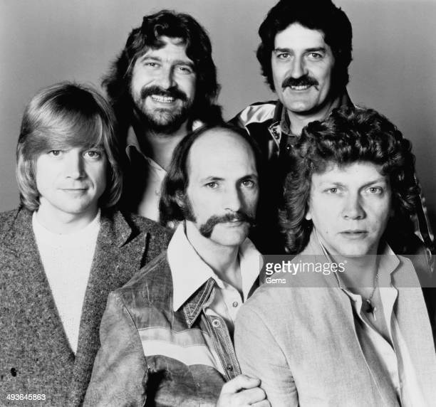 British rock group The Moody Blues 26th July 1978 Clockwise from top left Graeme Edge Ray Thomas John Lodge Mike Pinder and Justin Hayward
