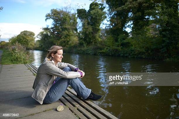 British rower Katherine Grainger CBE poses at the St Andrew's Boat Club on September 20 2013 in Edinburgh Scotland Grainger won gold in the Double...