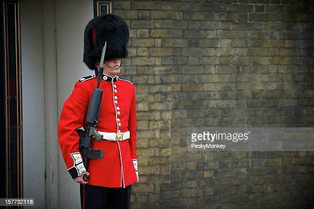British Royal Foot Guard Red Jacket Busby London
