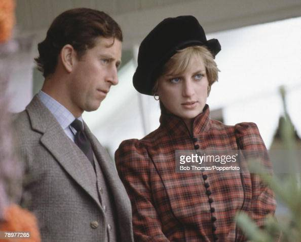 British royalty braemar games scotland 1981 prince Diana princess of wales affairs