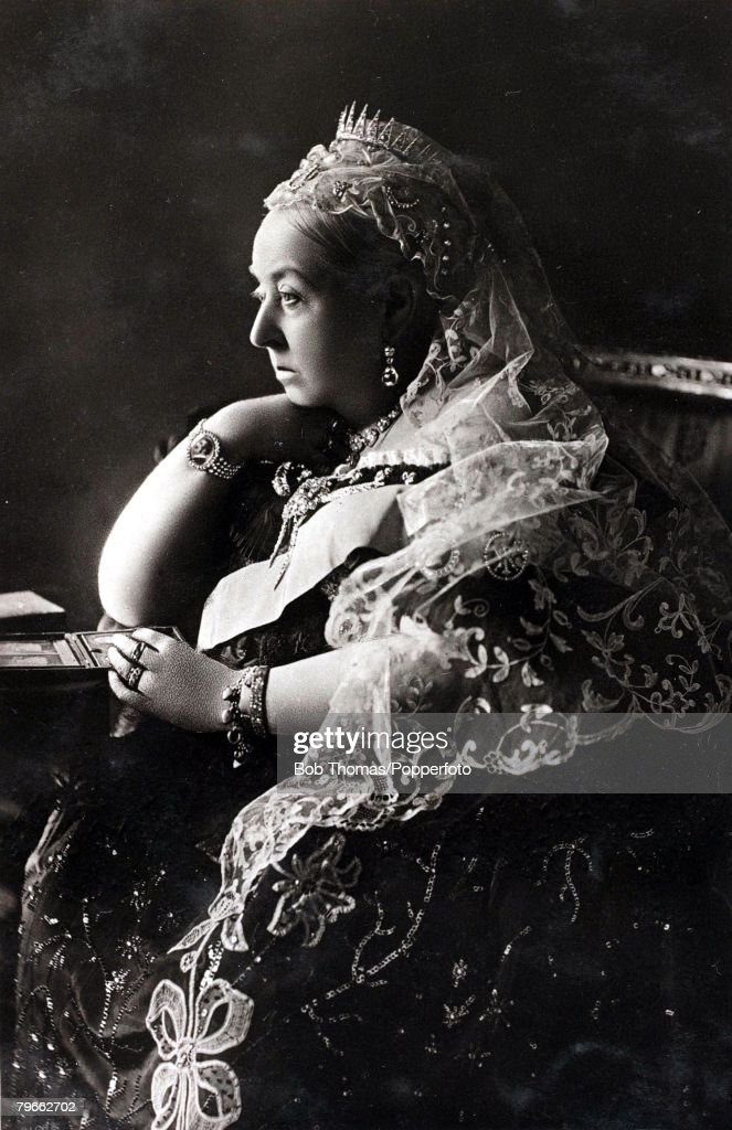 circa 1895, Queen Victoria of Great Britain, on of the greatest British monarchs who reigned from 1837-1901