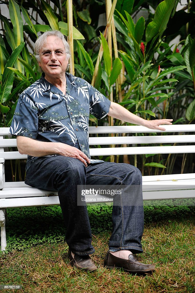 British scholar and author Richard Dawkins poses for a portrait prior to a press conference on the second day of the 2009 Paraty International Literary Festival on July 2, 2009 in Paraty, Brazil.