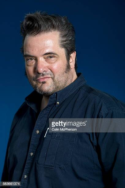 British screenwriter and author Charlie Fletcher pictured at the Edinburgh International Book Festival where he talked about his work in the movie...