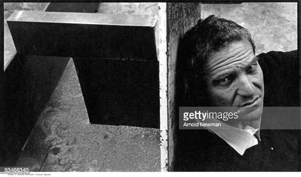 British sculptor Anthony Caro poses for portrait June 22 1966 in London England