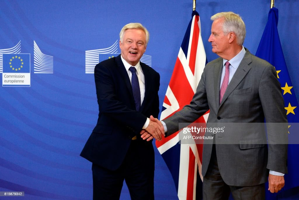 BELGIUM-BRITAIN-EU-BREXIT : News Photo