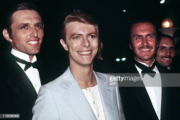 British singer and actor David Bowie attends the Cannes International Film Festival on May 1978 AFP PHOTO