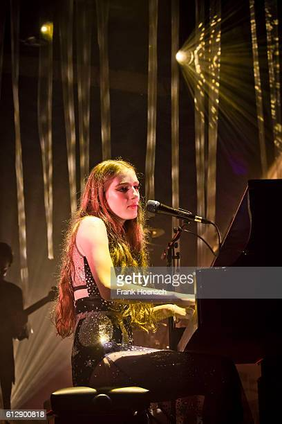British singer Birdy performs live during a concert at the Astra on October 5 2016 in Berlin Germany