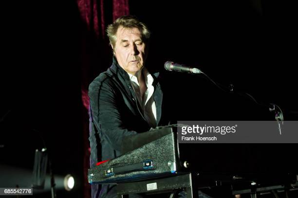 British singer Bryan Ferry performs live on stage during a concert at the Tempodrom on May 19 2017 in Berlin Germany
