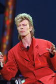 British singer David Bowie performs on stage during a concert in La Courneuve on July 3 1987 AFP PHOTO BERTRAND GUAY