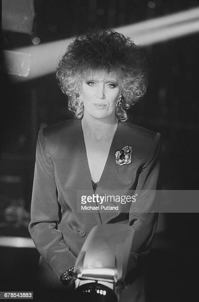 British singer Dusty Springfield during the shoot for the cover of her single 'Nothing Has Been Proved' London December 1988 The song was written and...