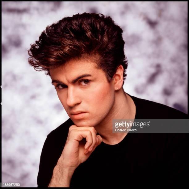 British singer George Michael of Wham London 1983