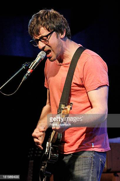 British singer Graham Coxon performs live during a concert at the Postbahnhof on September 14 2012 in Berlin Germany