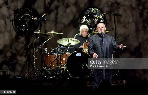 British singer Joe Cocker performs live during a concert at the O2 World on April 25 2013 in Berlin Germany