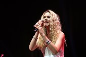 British singer Joss Stone performs during her concert at Zorlu Performing Arts Center in Istanbul Turkey on June 23 2016