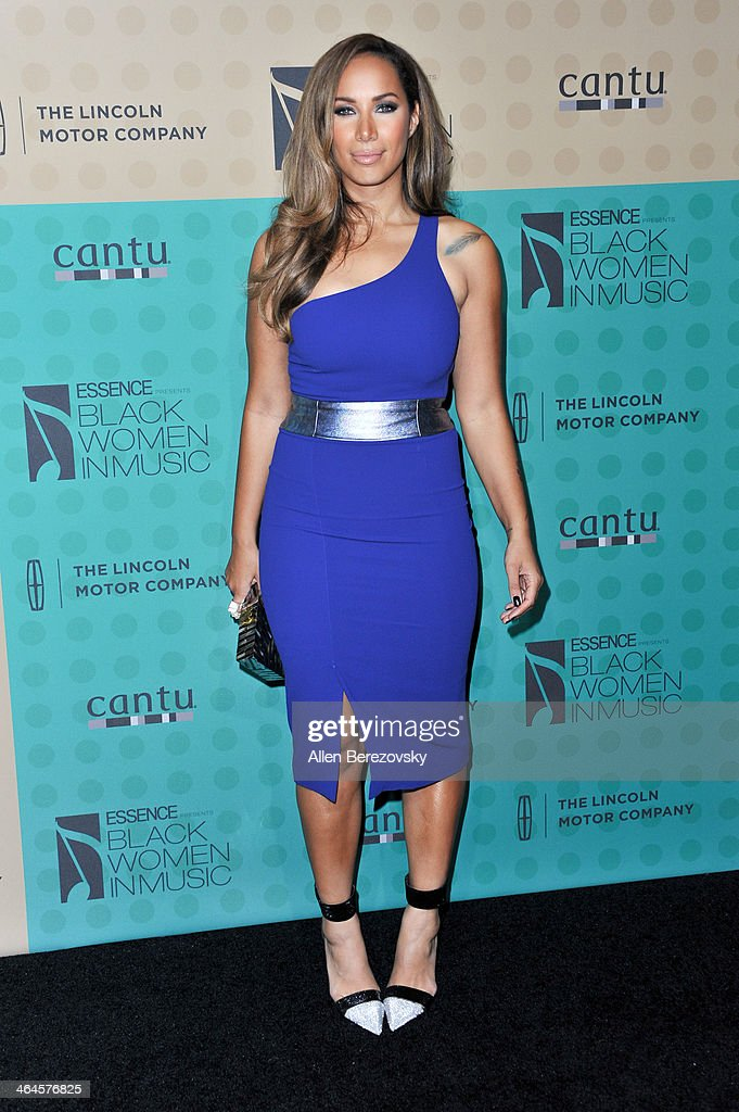 British singer Leona Lewis attends Essence Magazine's 5th Annual Black Women In Music Event at 1 OAK on January 22, 2014 in West Hollywood, California.