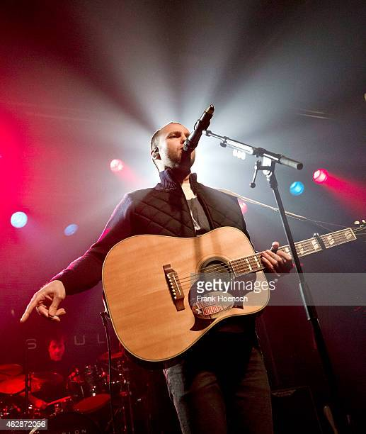 British singer Marlon Roudette performs live during a concert at the Postbahnhof on February 6 2015 in Berlin Germany