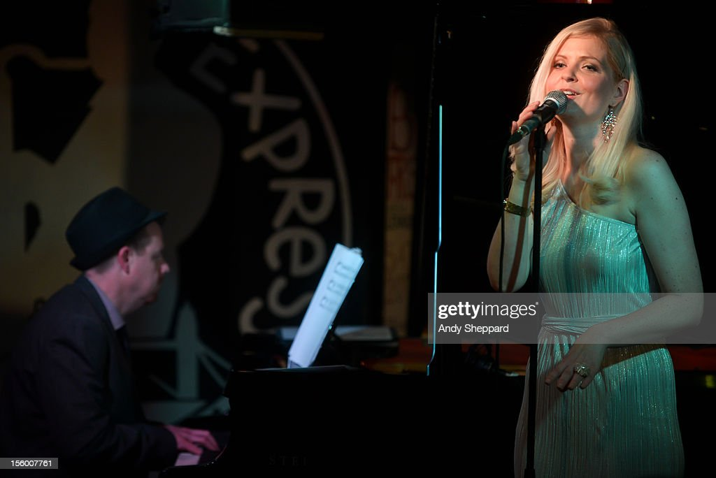 British singer Martyna performs on stage at Pizza Express Jazz Club during London Jazz Festival 2012 on November 10, 2012 in London, United Kingdom.