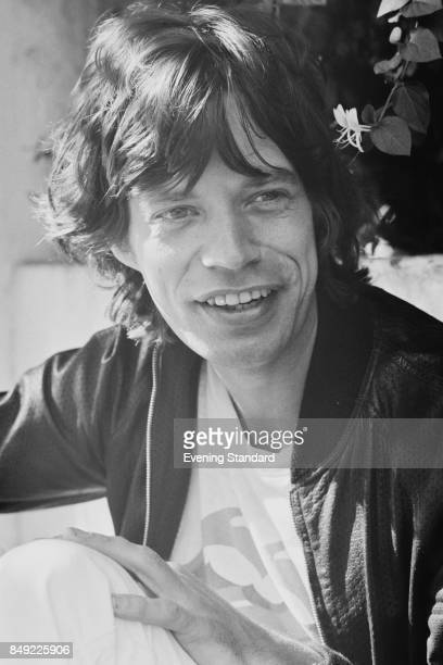 British singer Mick Jagger of the rock group Rolling Stones 14th September 1977