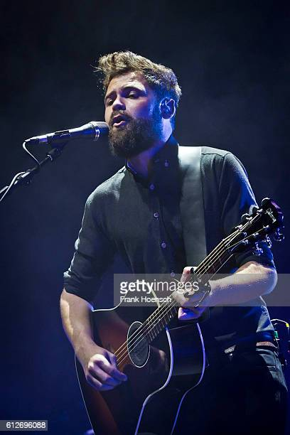 British singer Mike Rosenberg aka Passenger performs live during a concert at the Tempodrom on October 4 2016 in Berlin Germany