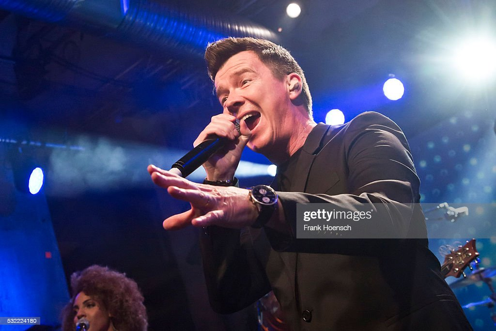 Rick Astley Performs In Berlin