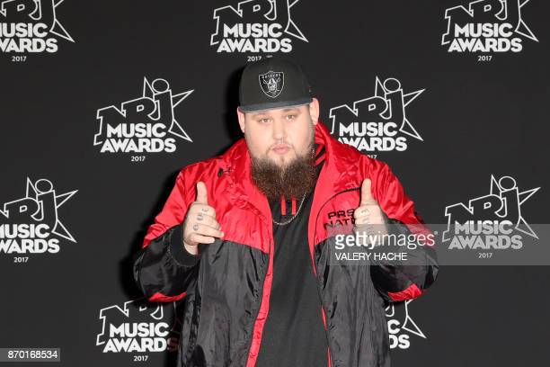 British singer Rory Graham aka Rag'n'Bone Man poses upon his arrival to attend the 19th NRJ Music Awards at the Palais des Festivals in Cannes...