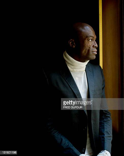 British singer Seal poses on November 08 2011 in Paris to promote his new album 'Soul II' AFP PHOTO / FRED DUFOUR