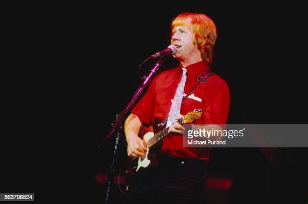 British singersongwriter and guitarist Ian Gomm performs on stage circa 1974