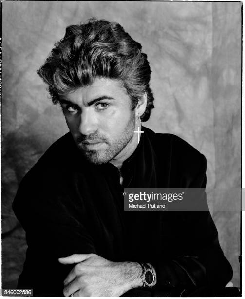 British singersongwriter George Michael London 2nd April 1987