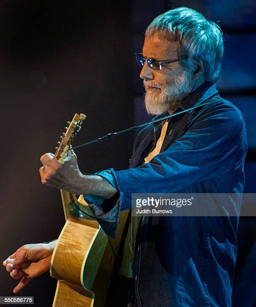 British singersongwriter Yusuf Islam performing at the 16th annual BBC Radio 2 Folk Awards at the Wales Millennium Centre Cardiff 22nd April 2015...
