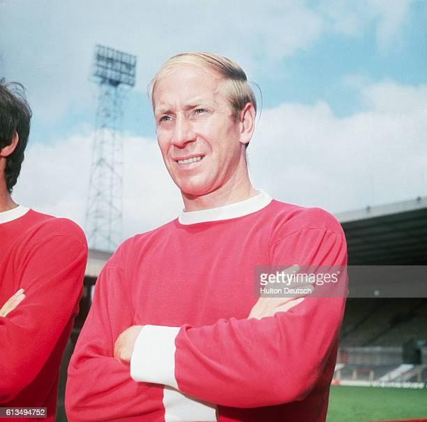British soccer player Bobby Charton Bobby Charlton Manchester United