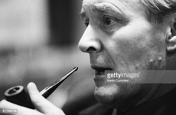 British socialist politician Tony Benn at Bridlington 9th April 1982