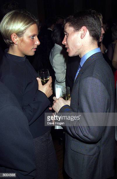 British socialite Zara Phillips and boyfriend attend the premiere party for the film 'The King and I' on May 4 2000 in London
