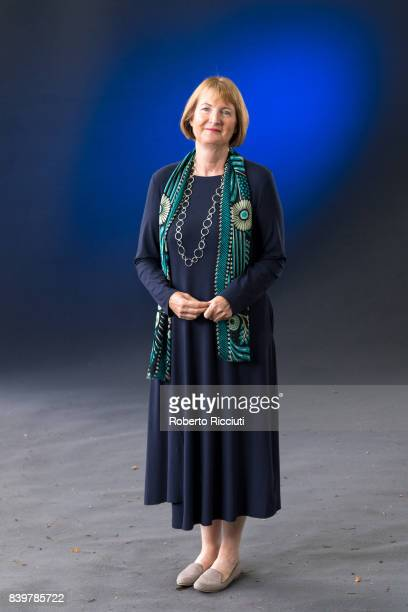 British solicitor and Labour Party politician Harriet Harman MP attends a photocall during the annual Edinburgh International Book Festival at...