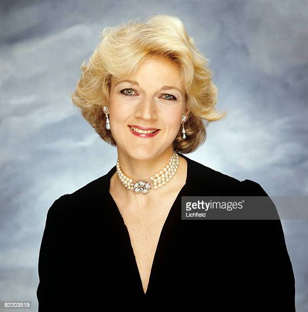 British solicitor Fiona Shackleton Partner in the firm Payne Hicks Beach photographed in the Studio on 23rd October 1991 Shackleton is notable for...