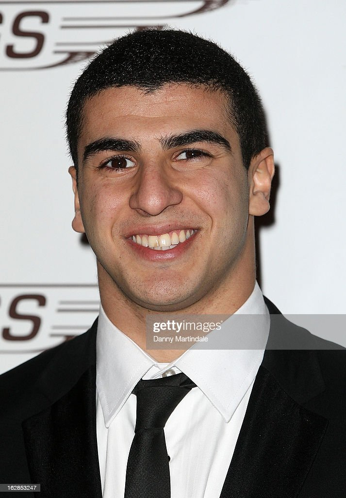 British sprinter Adam Gemili attends a dinner and ball hosted by The Cord Club in aid of Wings For Life at One Marylebone on February 28, 2013 in London, England.