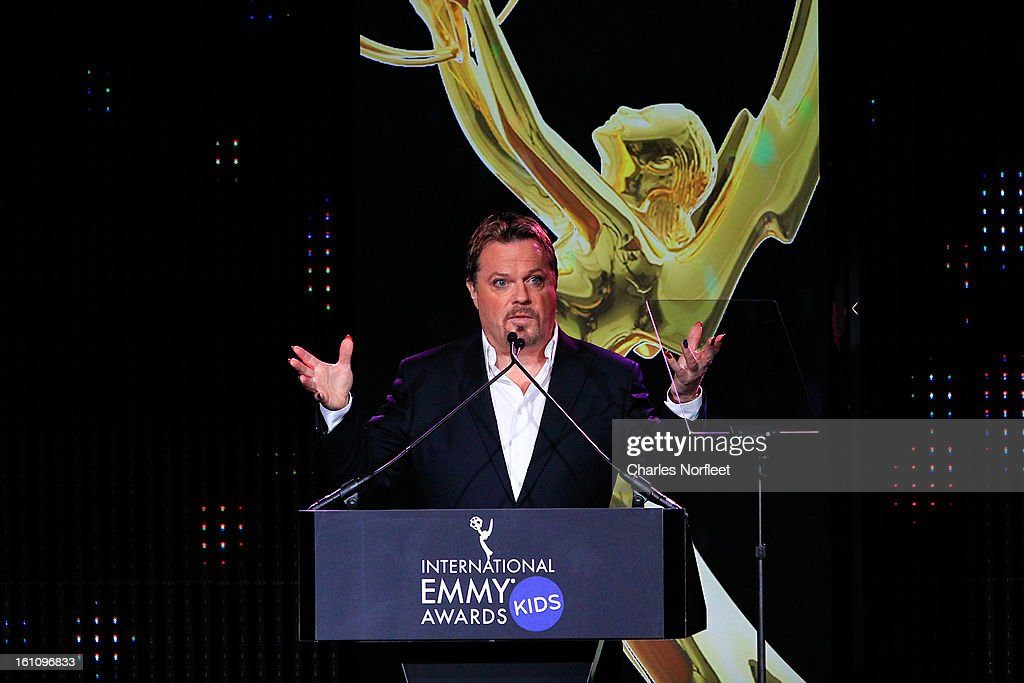 British stand-up comedian/actor/writer Eddie Izzard attends The Inaugural International Emmy Kids Awards at The Lighthouse at Chelsea Piers on February 8, 2013 in New York City.