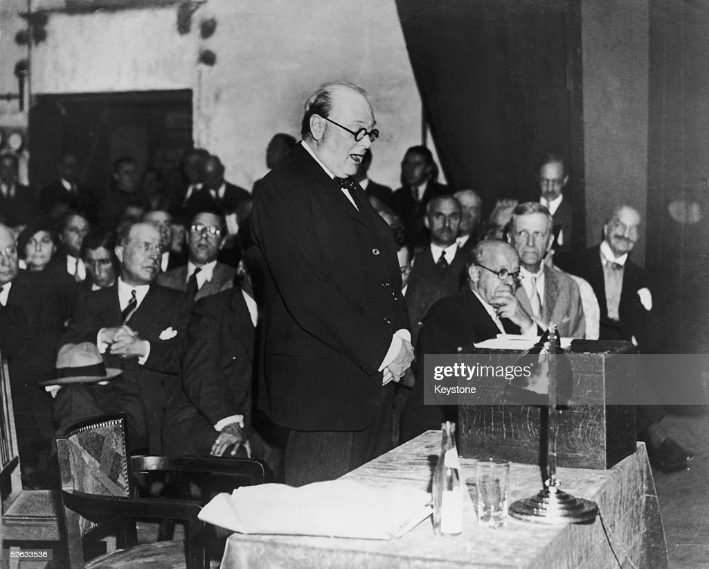 Image result for Winston Churchill 1936 speech