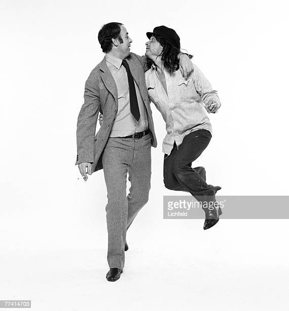 British tailor Doug Hayward and photographer David Bailey on 7th October 1971