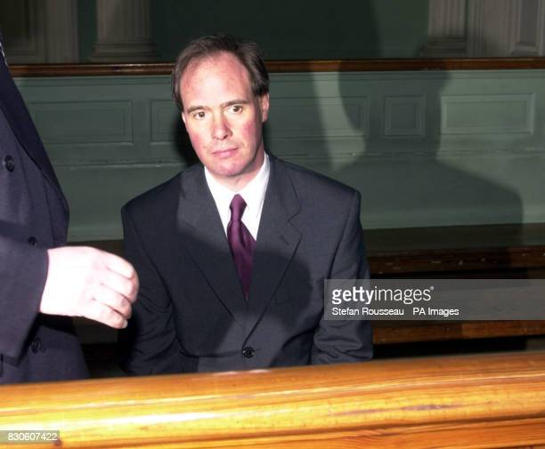British teacher Mark Duckworth at the Palais De Justice in Boulogne France before appearing at the main court in Boulogne accused of manslaughter...