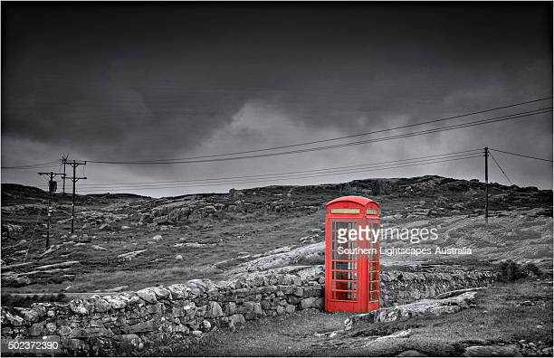 A British Telephone booth, such an Iconic symbol of the United Kingdom.