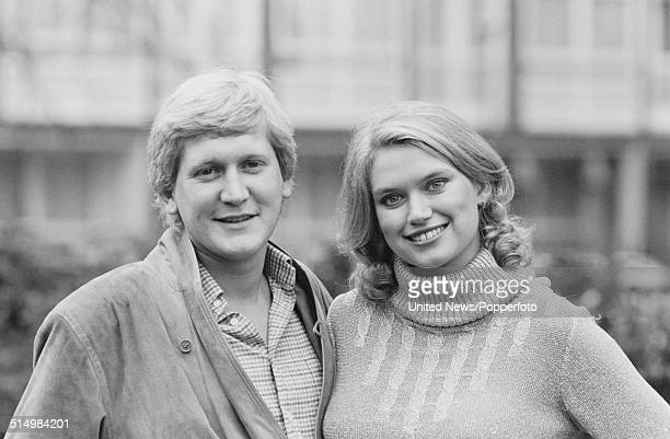British television presenters Anneka Rice and Mike Smith posed together in London on 25th January 1982