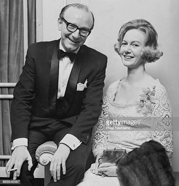 British television producer and executive Bill Cotton and his fiancee Ann Henderson at the Dorchester hotel in London UK 11th March 1965