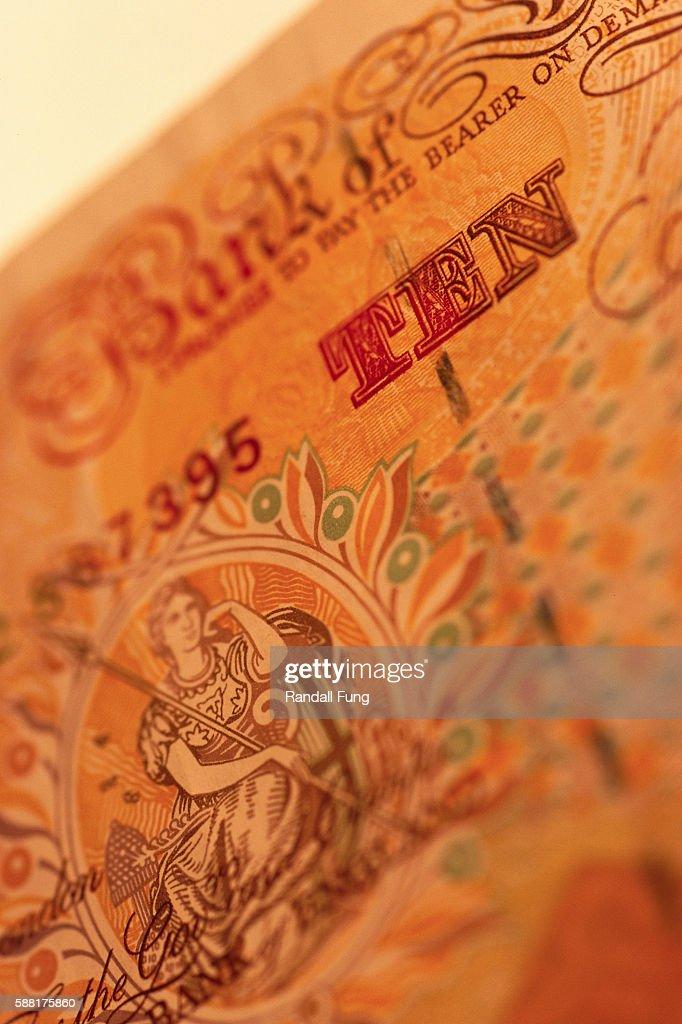 British Ten Pound Note