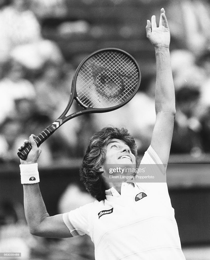 Virginia Wade At Wimbledon