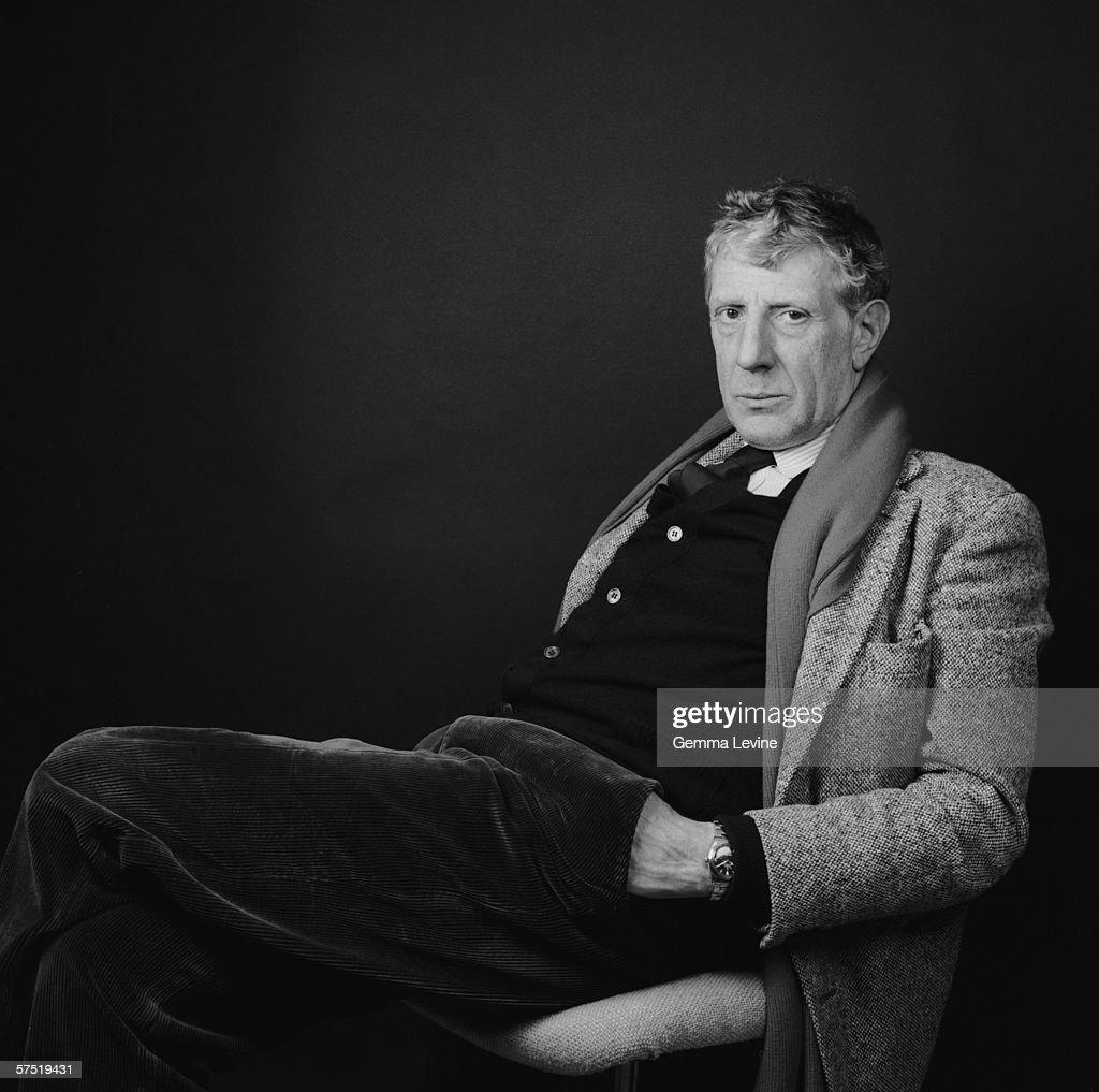 British theatre and opera director Jonathan Miller circa 1985