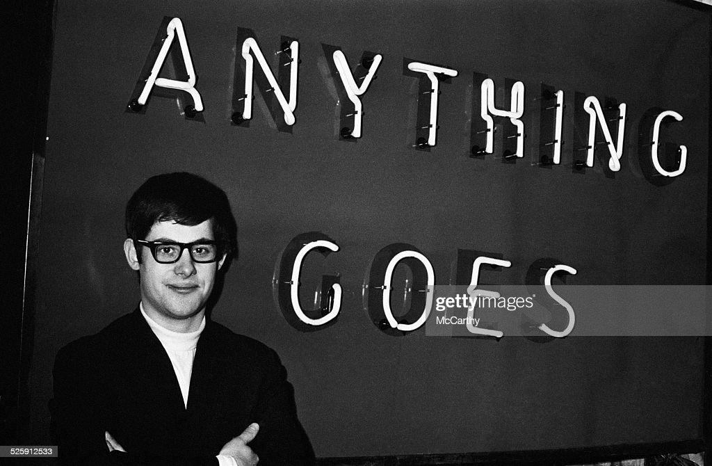 British theatrical producer Cameron Mackintosh whose show 'Anything Goes' has been cancelled after just two weeks, London, 2nd December 1969.